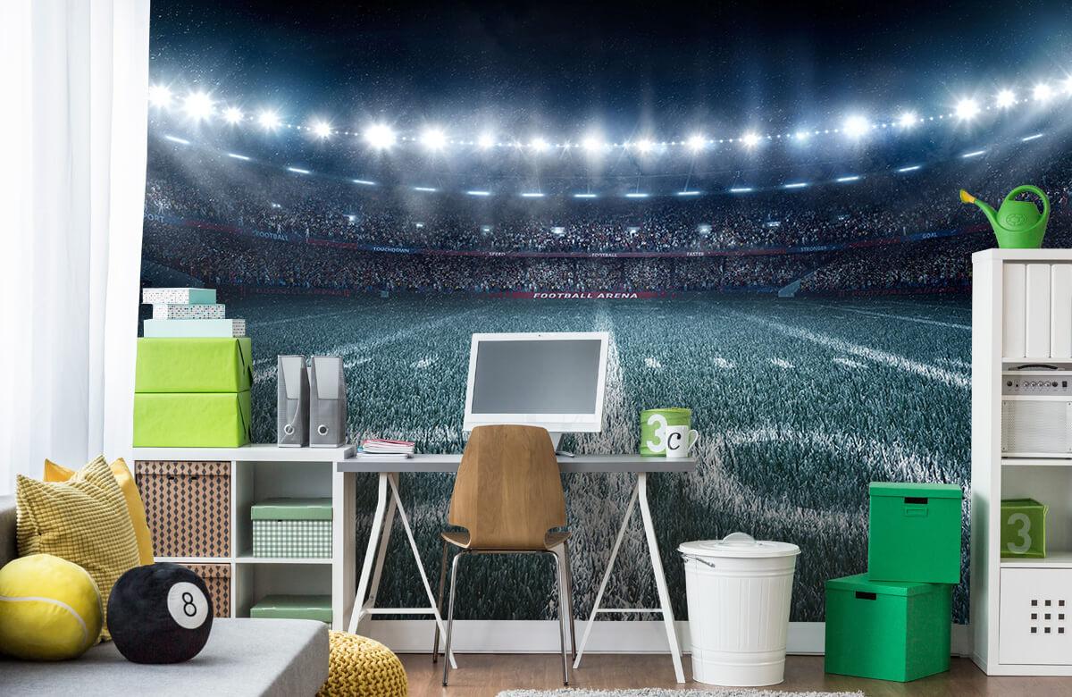 Sport 3D voetbal stadion 9