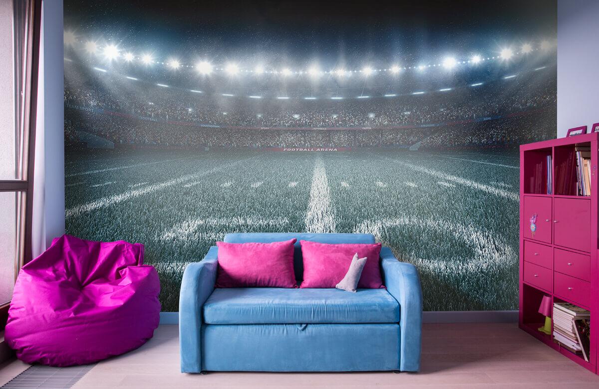 Sport 3D voetbal stadion 10