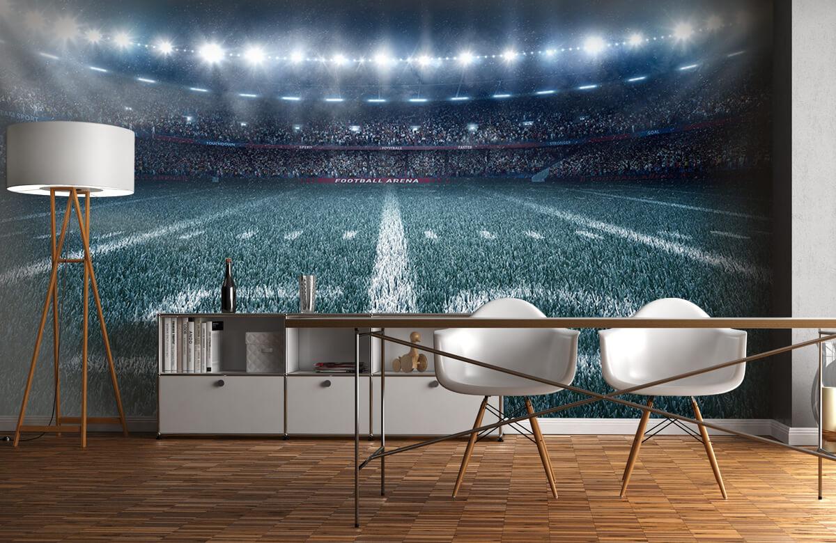 Sport 3D voetbal stadion 11