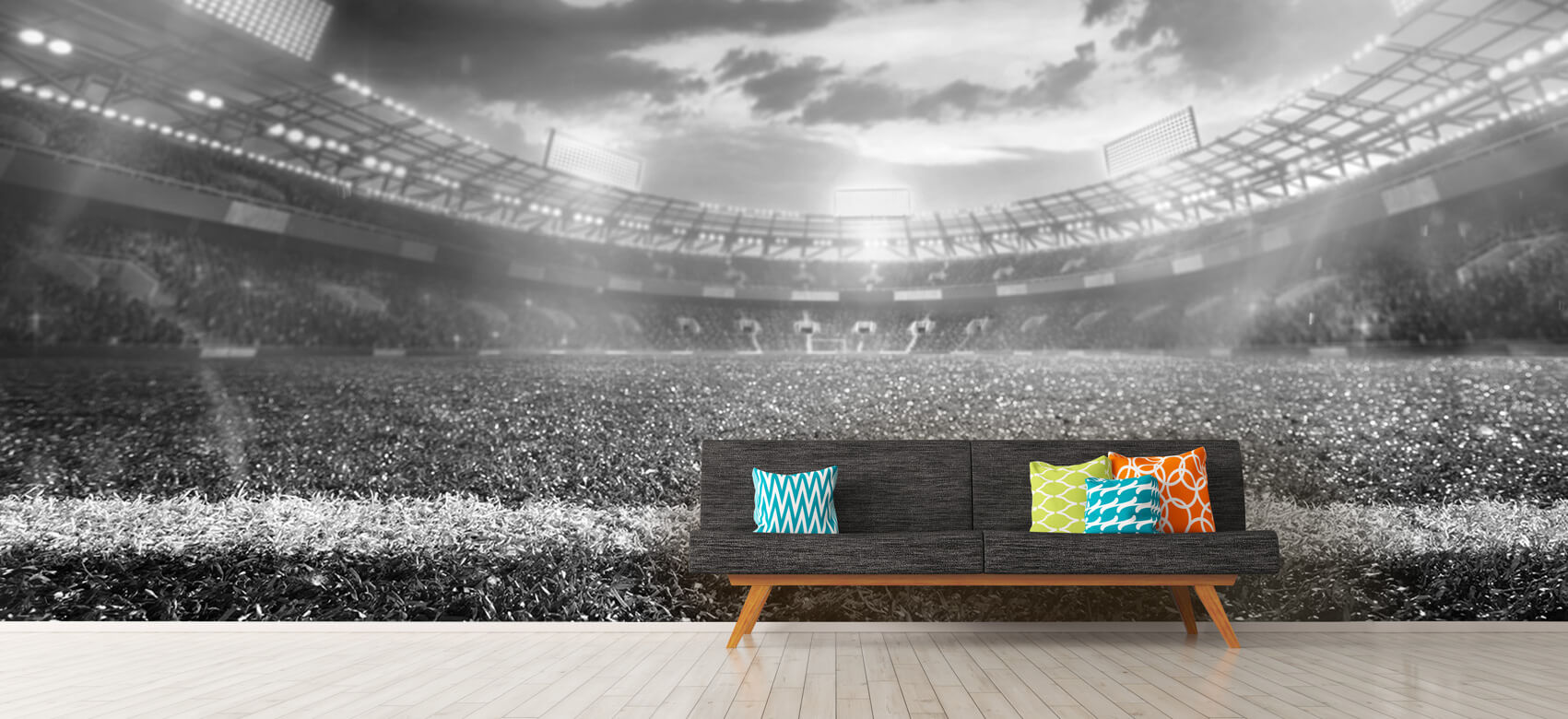 Sport Stadion met kunstgras 13