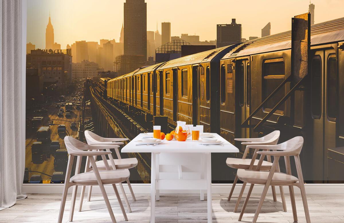 Transport Trein in New York 2