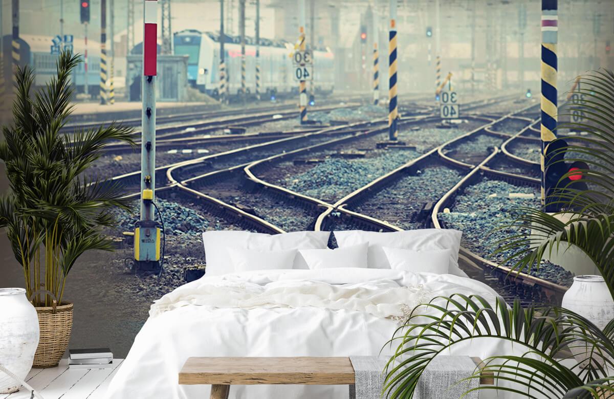 Transport Treinsporen en wissels 6