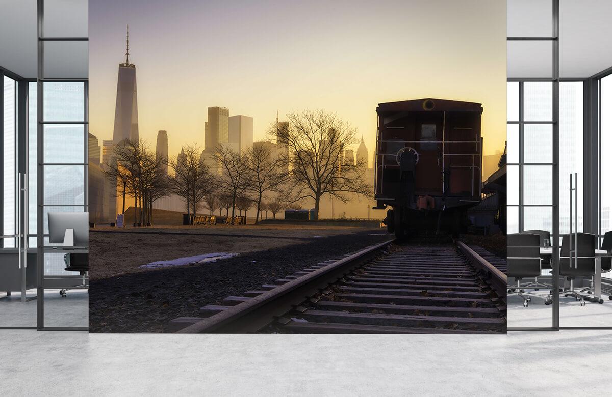 Transport Spoor met wagon 4
