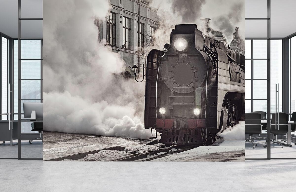 Transport Dampende stroomtrein 4