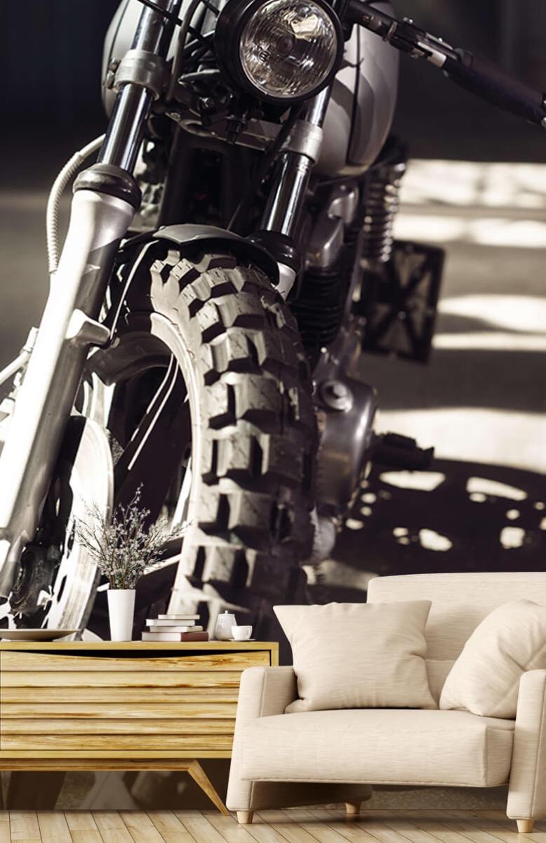 Transport Vooraanzicht motorfiets 2