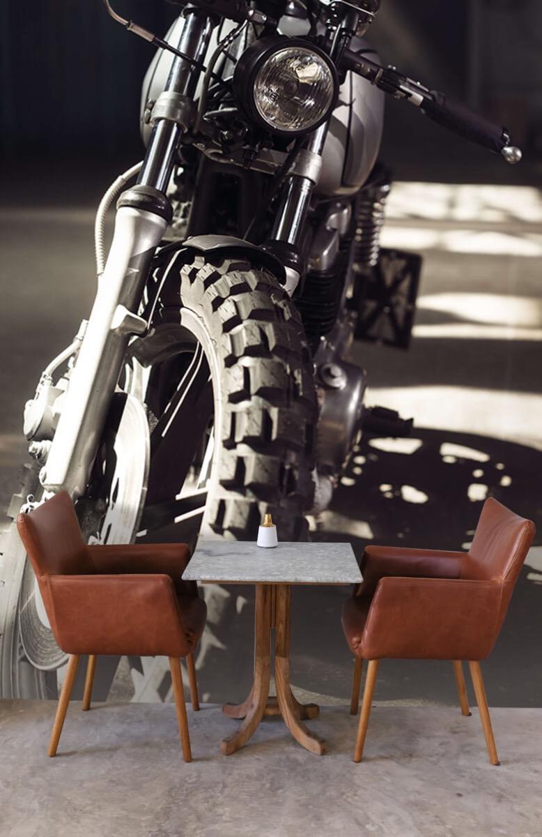 Transport Vooraanzicht motorfiets 3