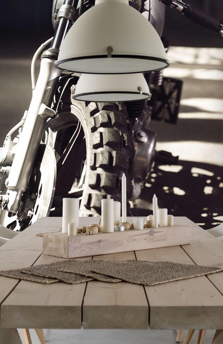 Transport Vooraanzicht motorfiets 4