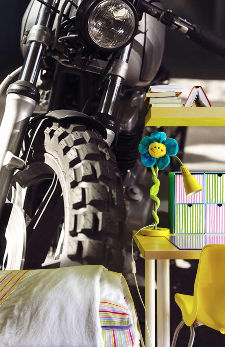 Transport Vooraanzicht motorfiets 7