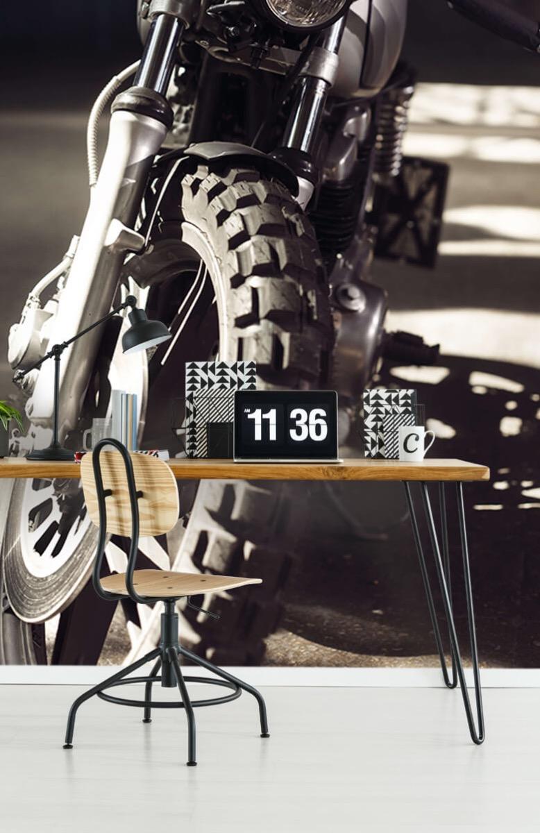 Transport Vooraanzicht motorfiets 9