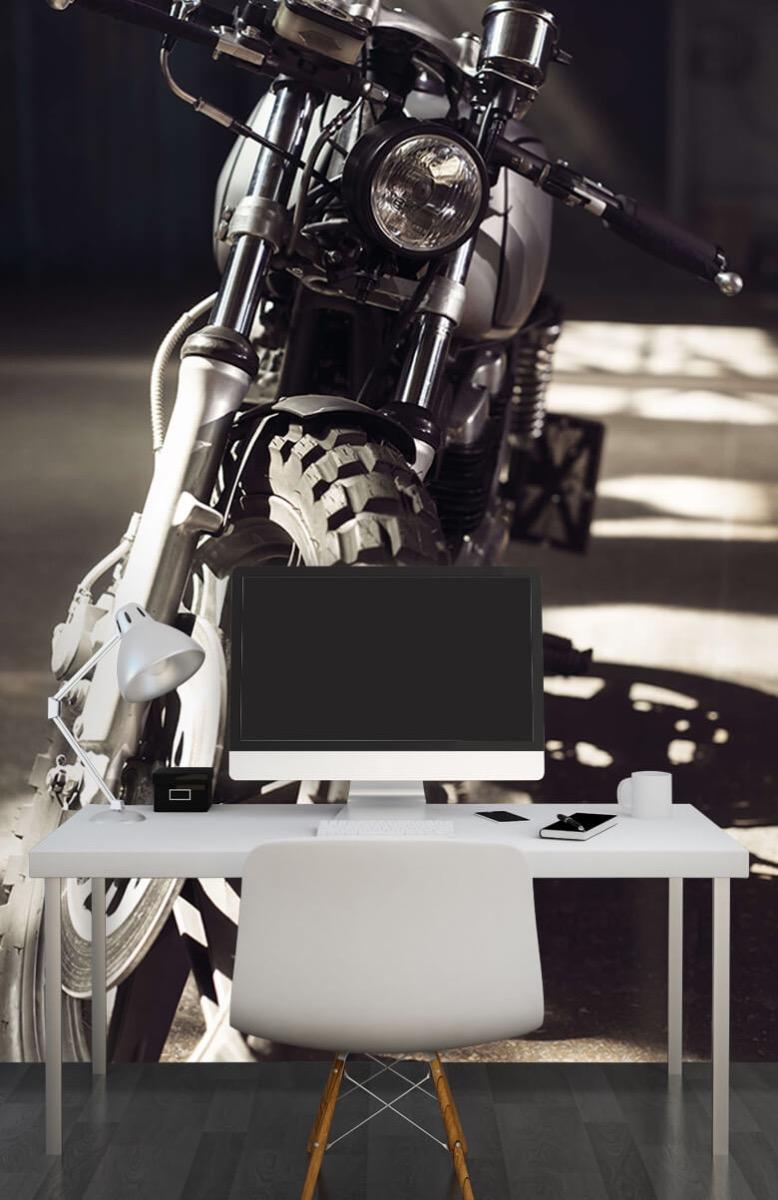 Transport Vooraanzicht motorfiets 10