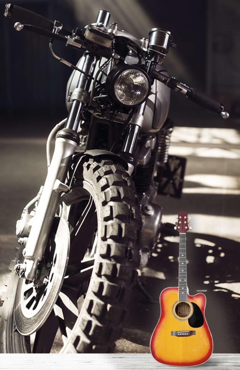 Transport Vooraanzicht motorfiets 11