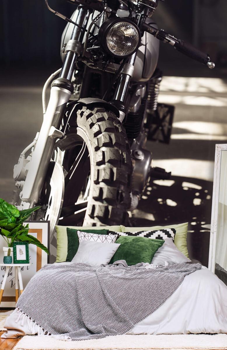 Transport Vooraanzicht motorfiets 13