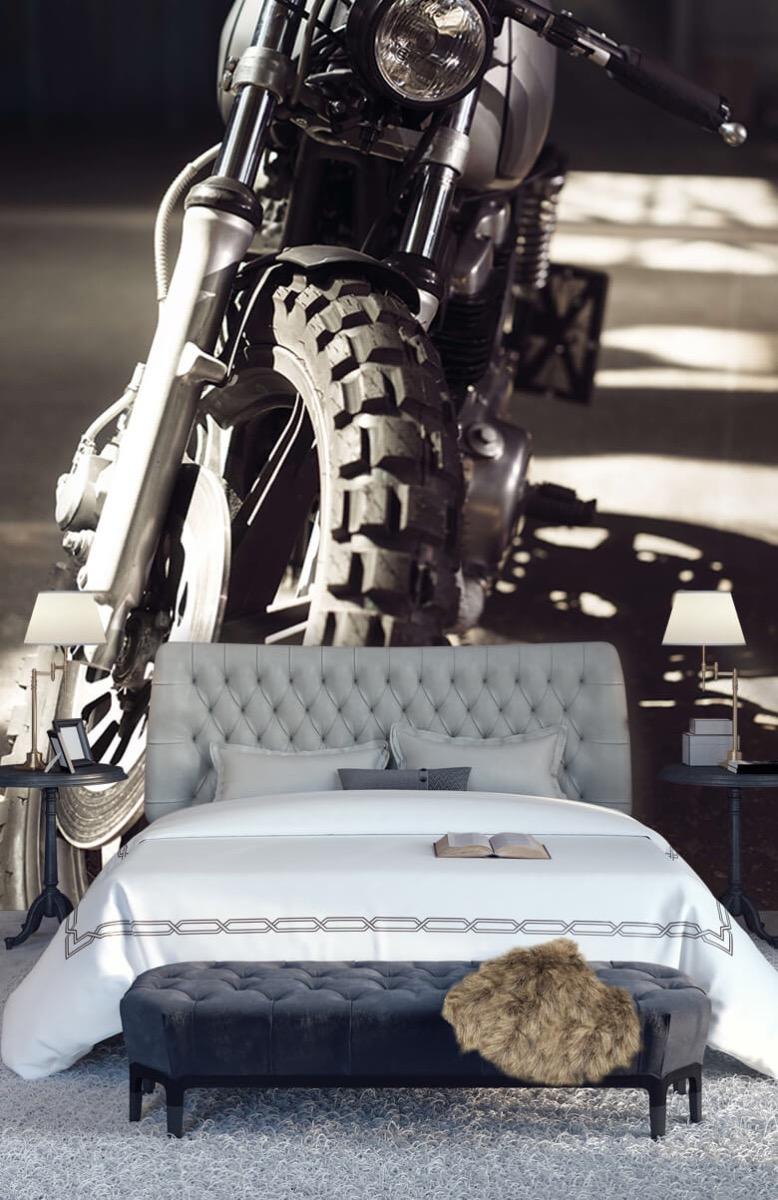 Transport Vooraanzicht motorfiets 14