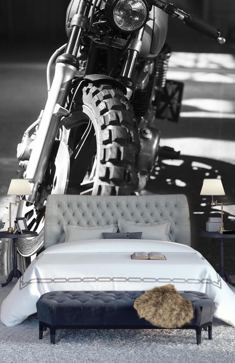 Transport Vooraanzicht motorfiets 15
