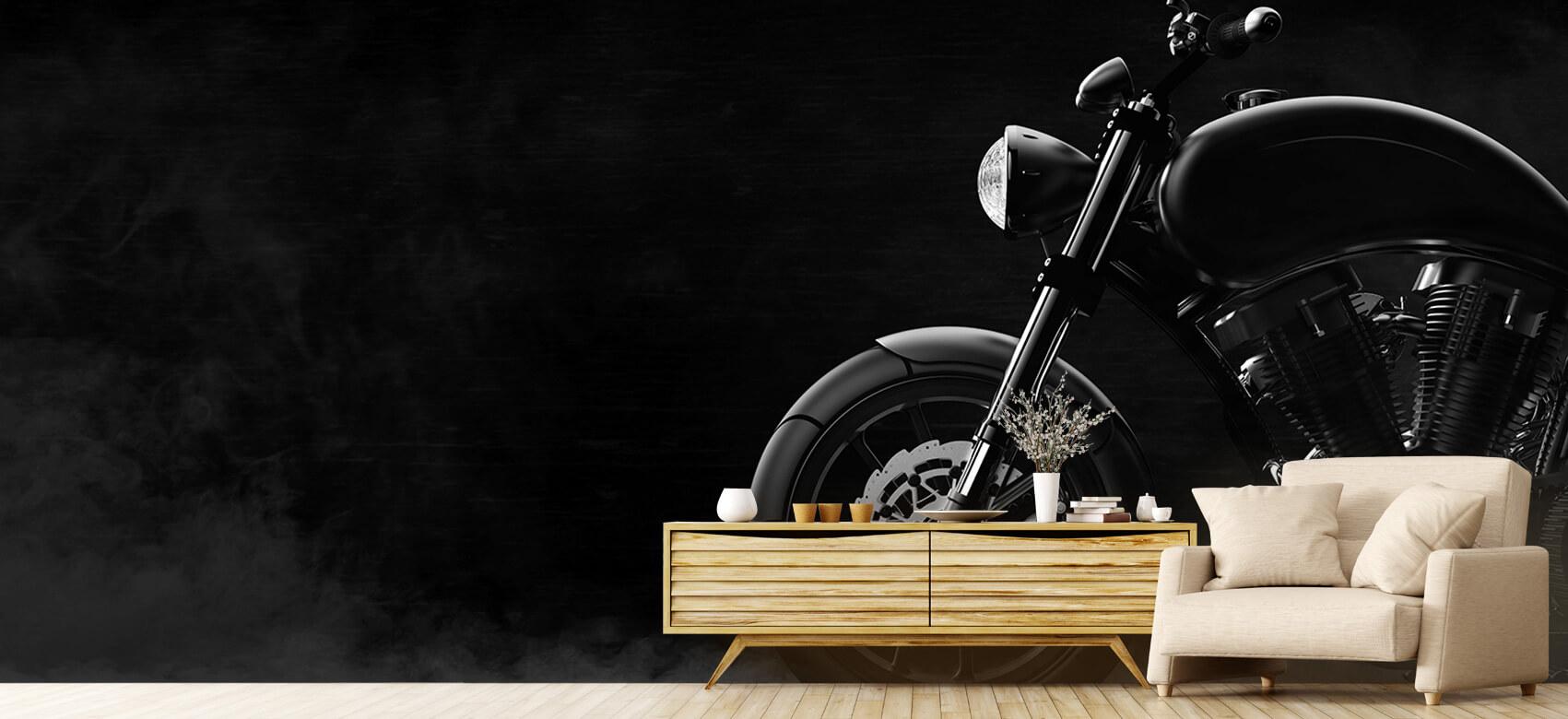 Transport Zwarte moderne motor 8
