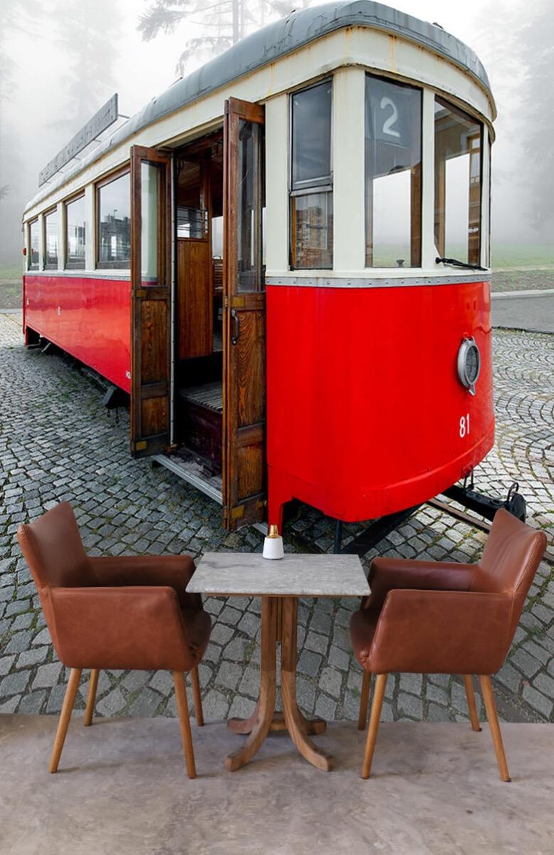 Transport Oud trammetje 4