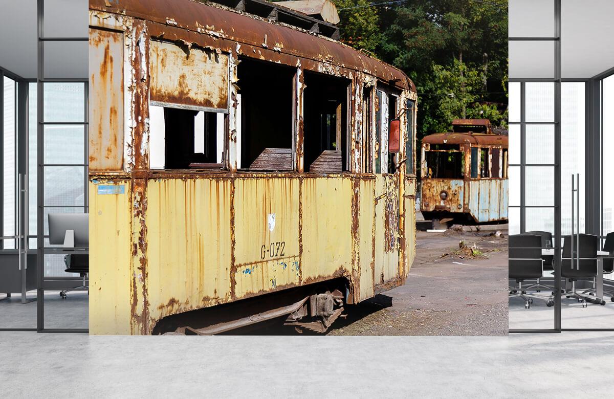 Transport Roestige trams 3