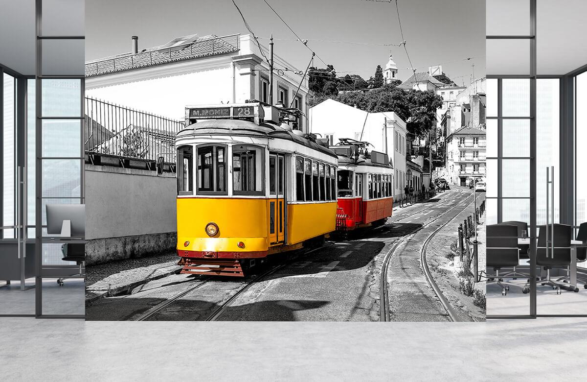 Transport Gele en rode tram 4