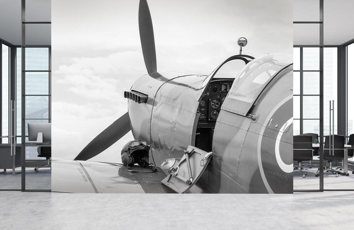 Transport Oud gevechtsvliegtuig 4