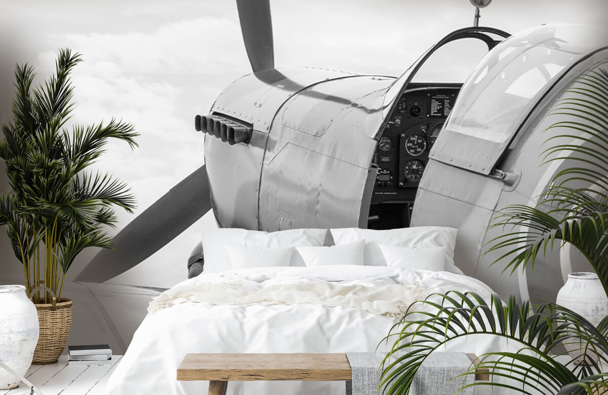 Transport Oud gevechtsvliegtuig 7