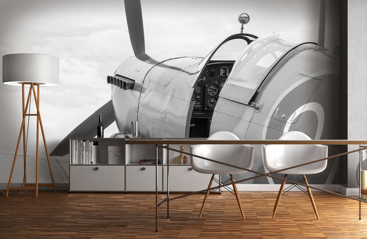Transport Oud gevechtsvliegtuig 11