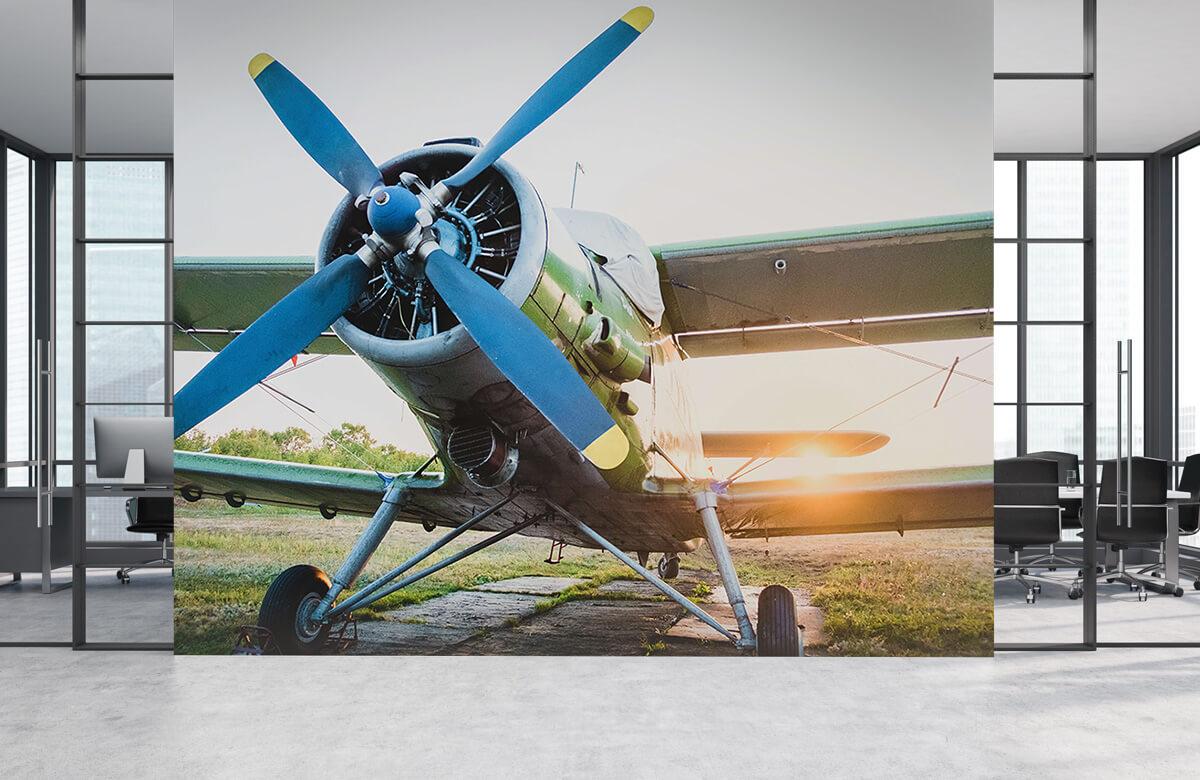 Transport Klein eenmotorig privévliegtuig 4
