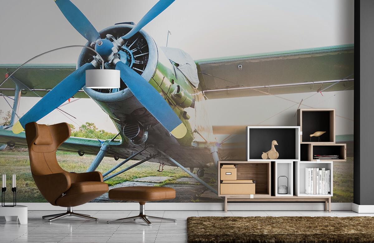 Transport Klein eenmotorig privévliegtuig 5