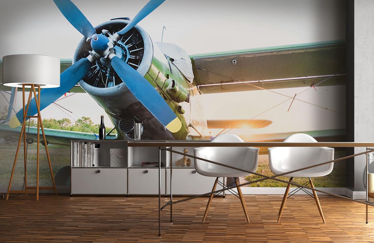 Transport Klein eenmotorig privévliegtuig 11