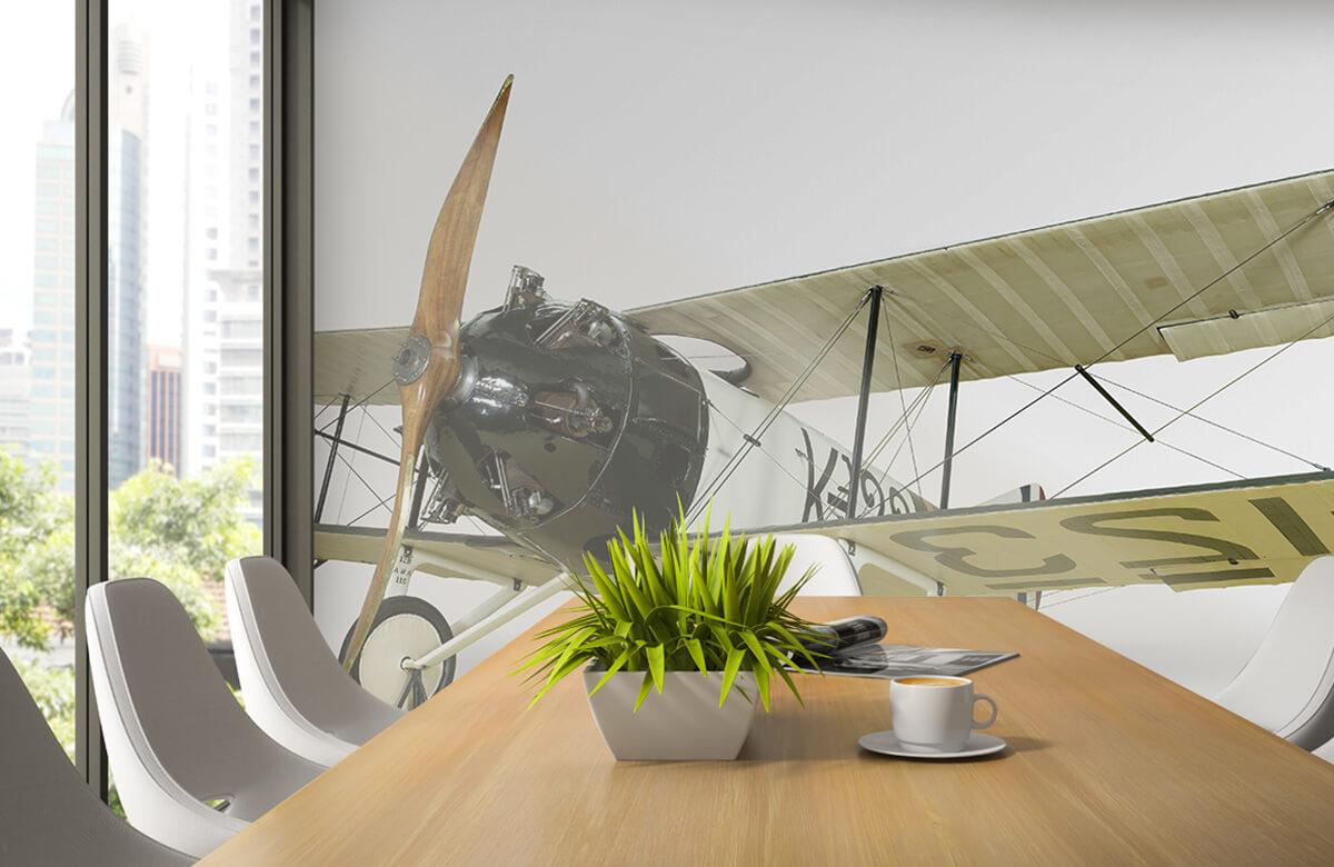 Transport Oud vliegtuig FK 23 Bantam 3