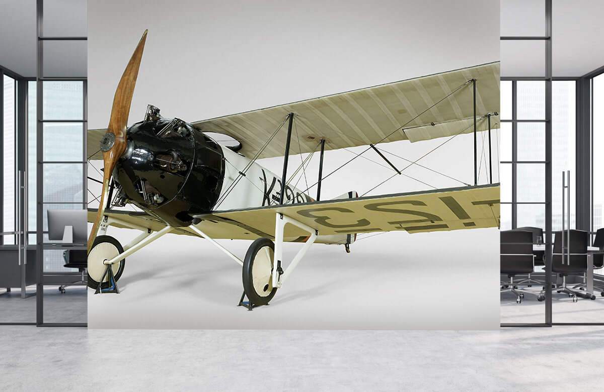 Transport Oud vliegtuig FK 23 Bantam 1