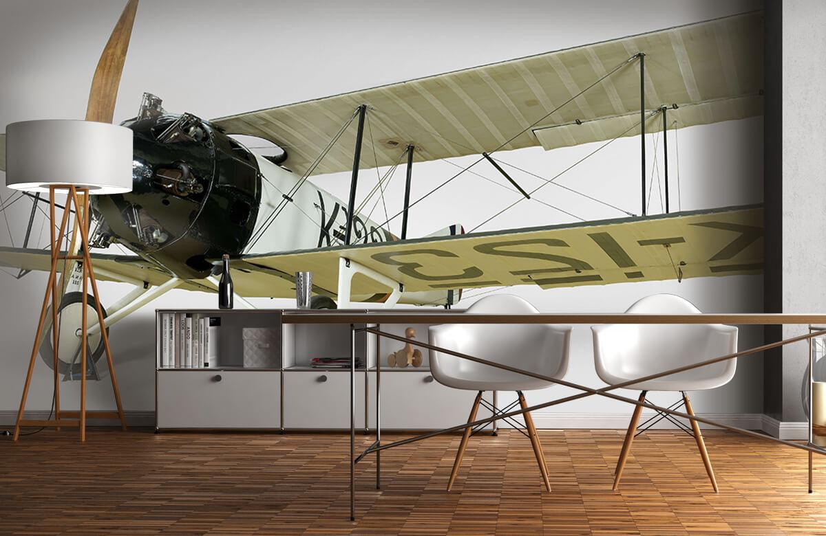Transport Oud vliegtuig FK 23 Bantam 11
