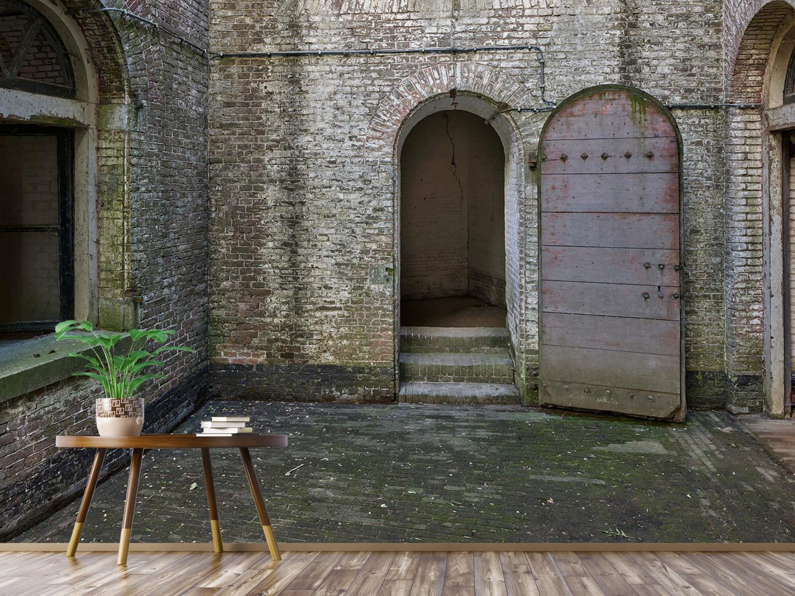3D - Binnenplaats oud gebouw 4