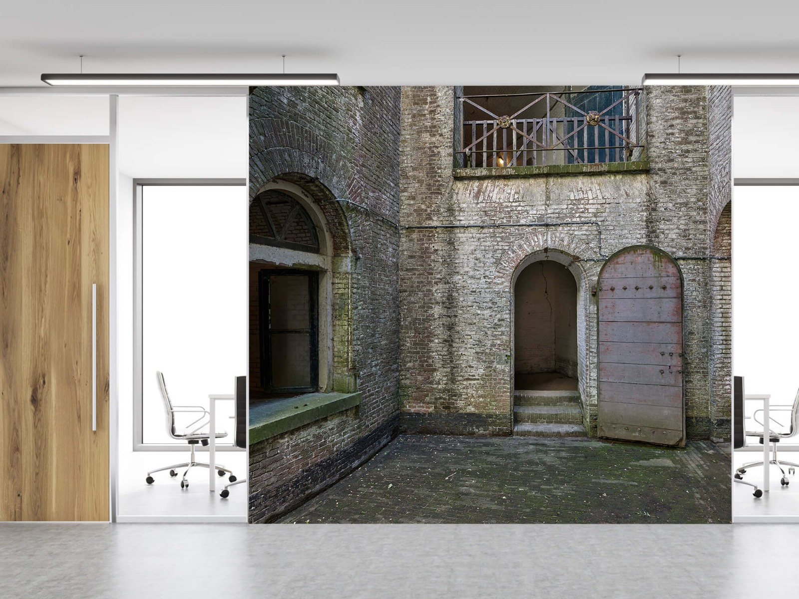 3D - Binnenplaats oud gebouw 11