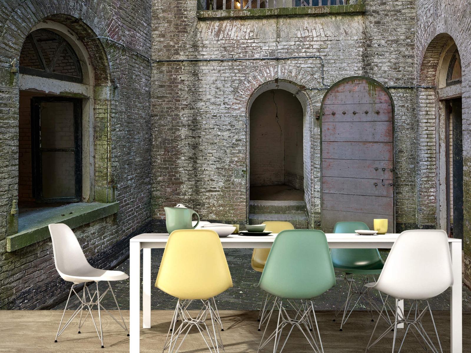3D - Binnenplaats oud gebouw 15