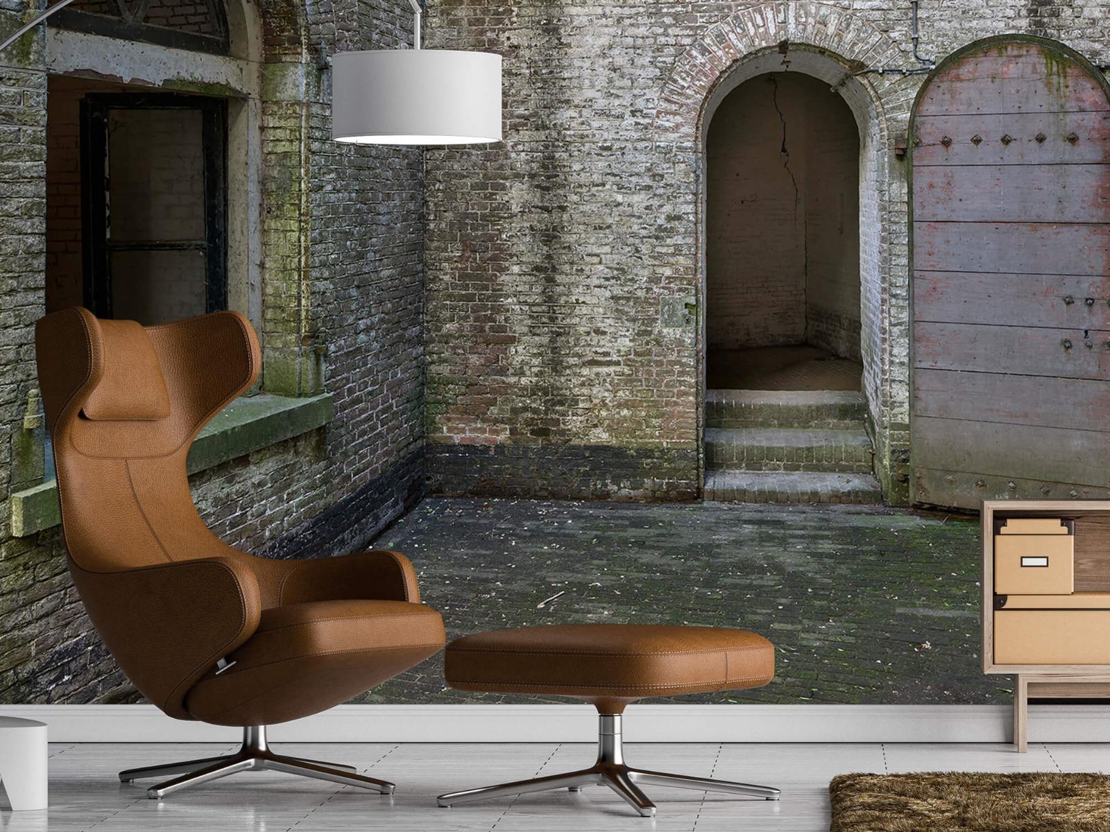 3D - Binnenplaats oud gebouw 19