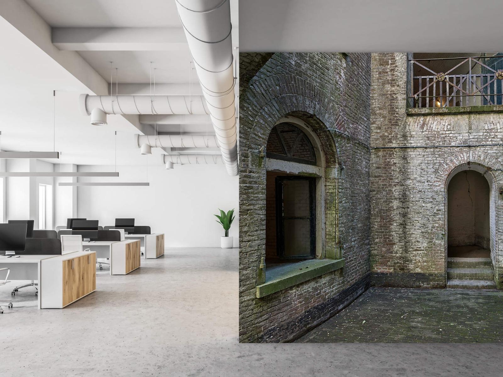 3D - Binnenplaats oud gebouw 21