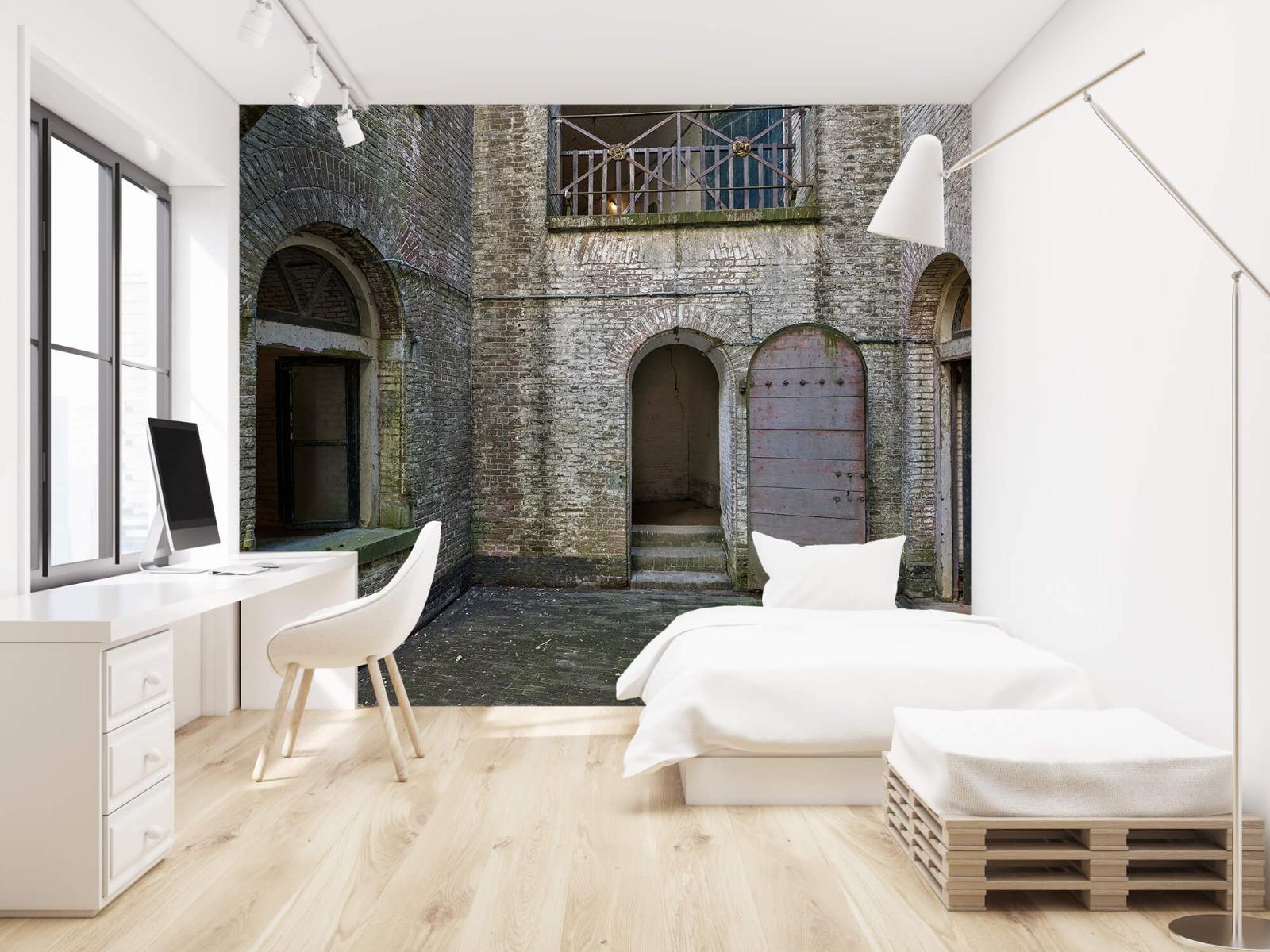 3D - Binnenplaats oud gebouw 22