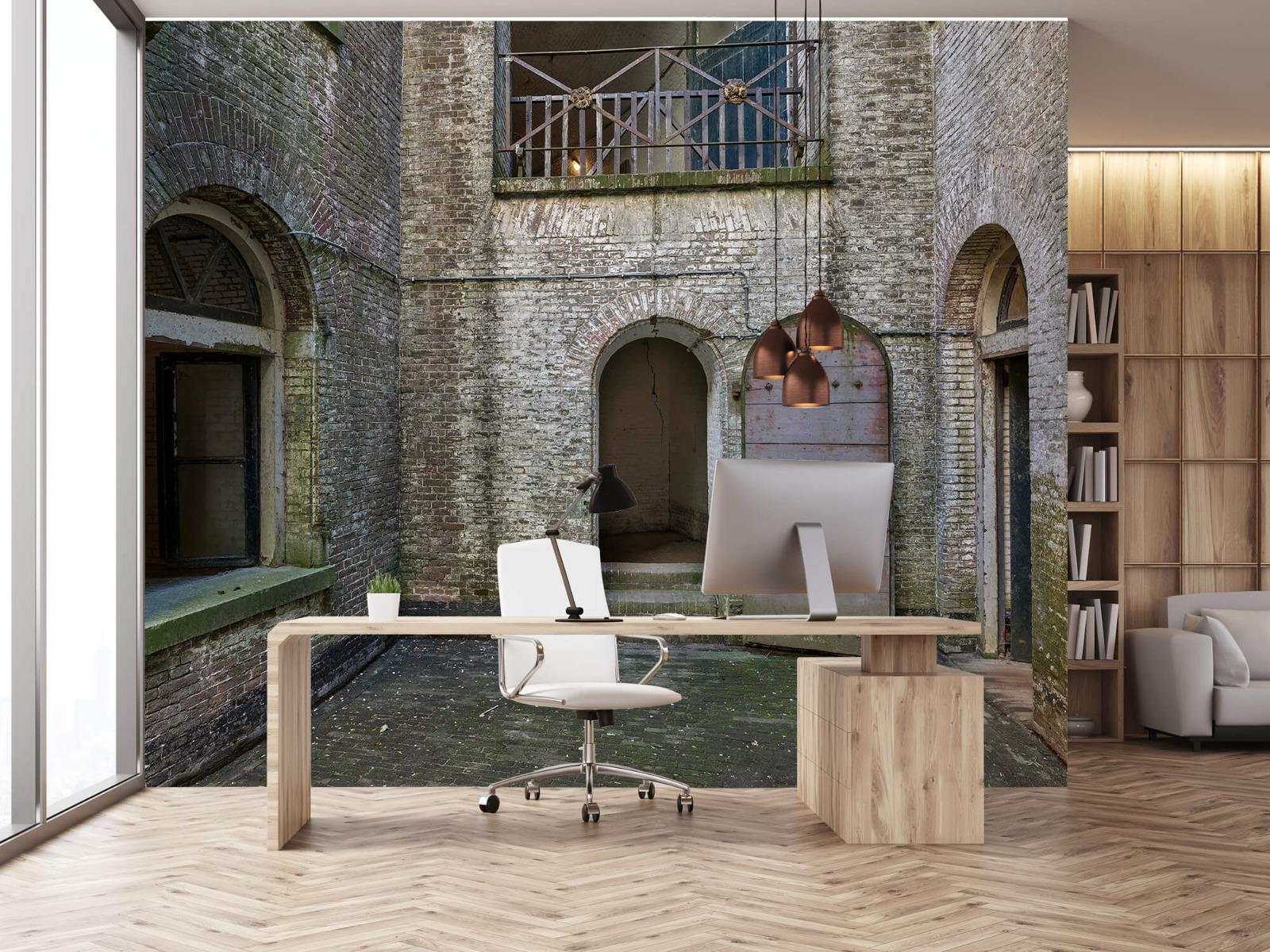 3D - Binnenplaats oud gebouw 24