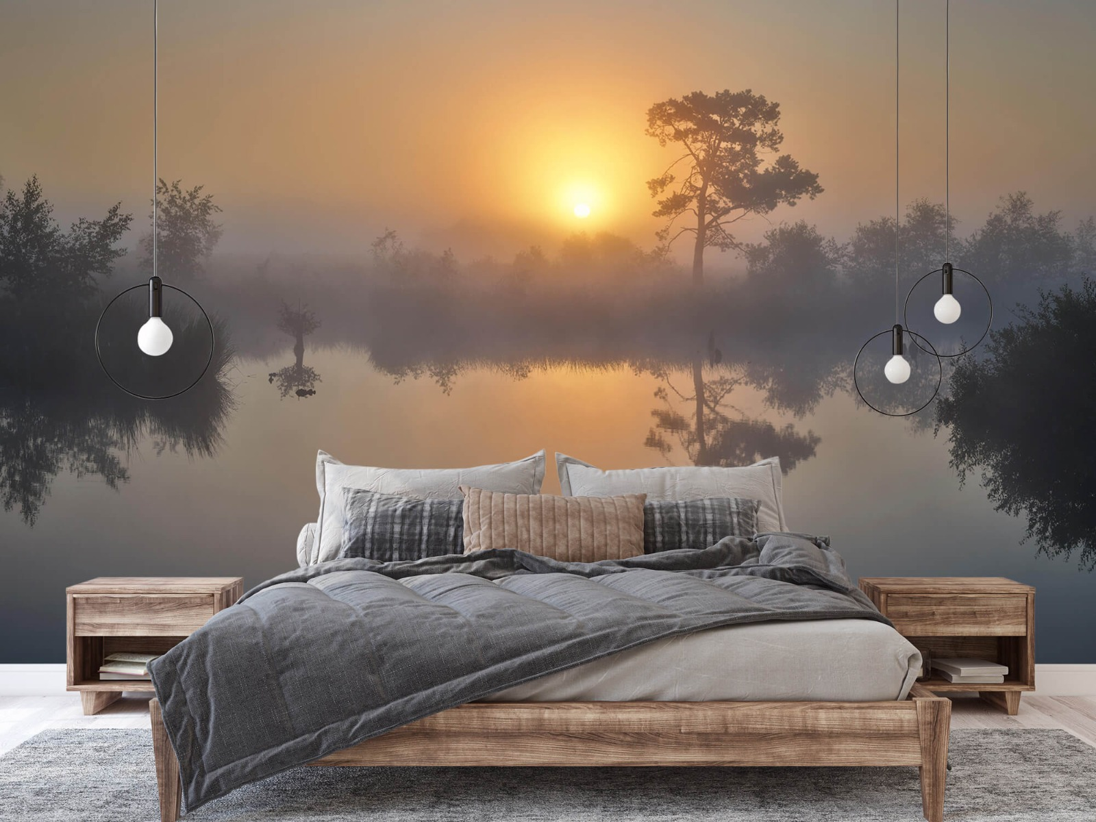 Natuur - Mistige zonsopkomst 3