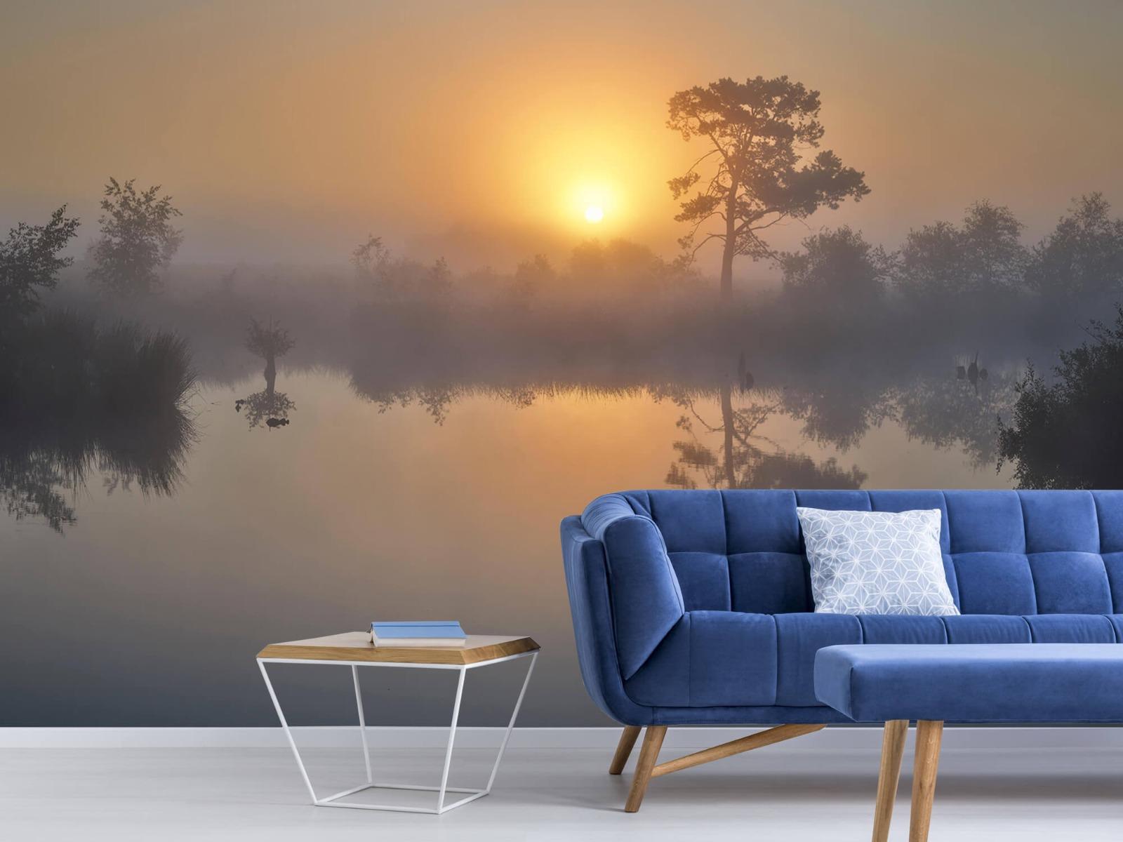 Natuur - Mistige zonsopkomst 6