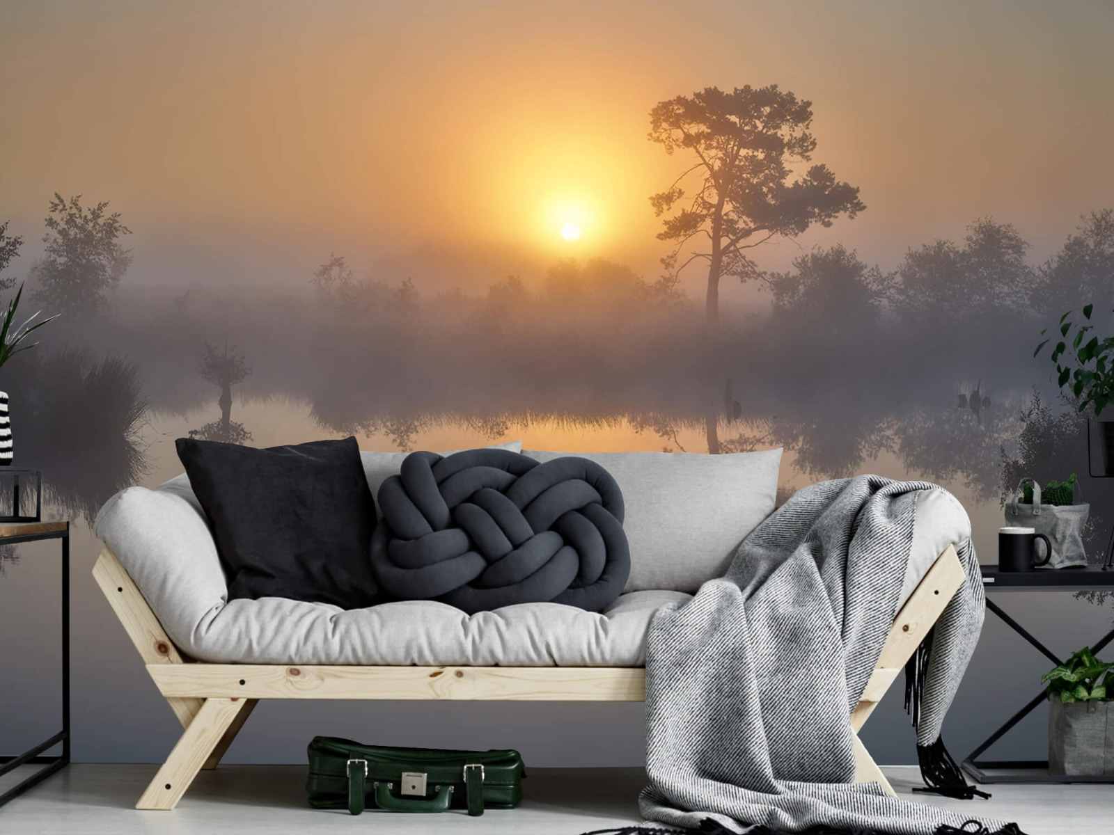 Natuur - Mistige zonsopkomst 8