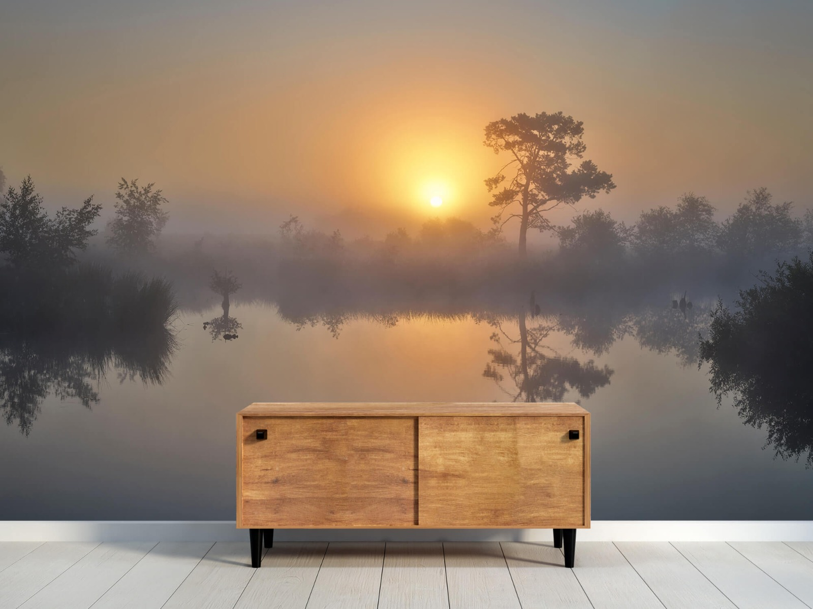 Natuur - Mistige zonsopkomst 10