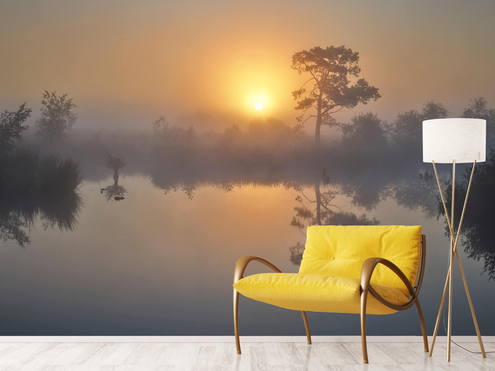 Natuur - Mistige zonsopkomst 11