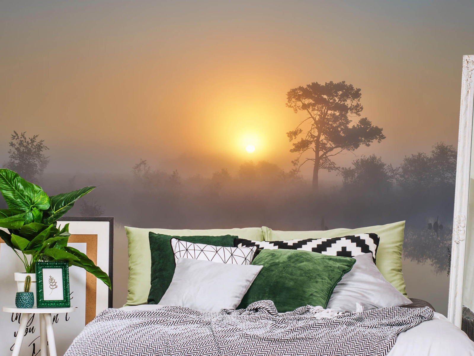 Natuur - Mistige zonsopkomst 13