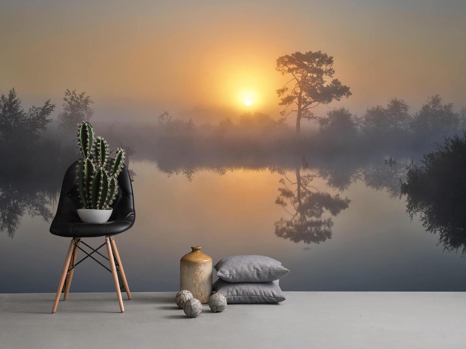Natuur - Mistige zonsopkomst 14