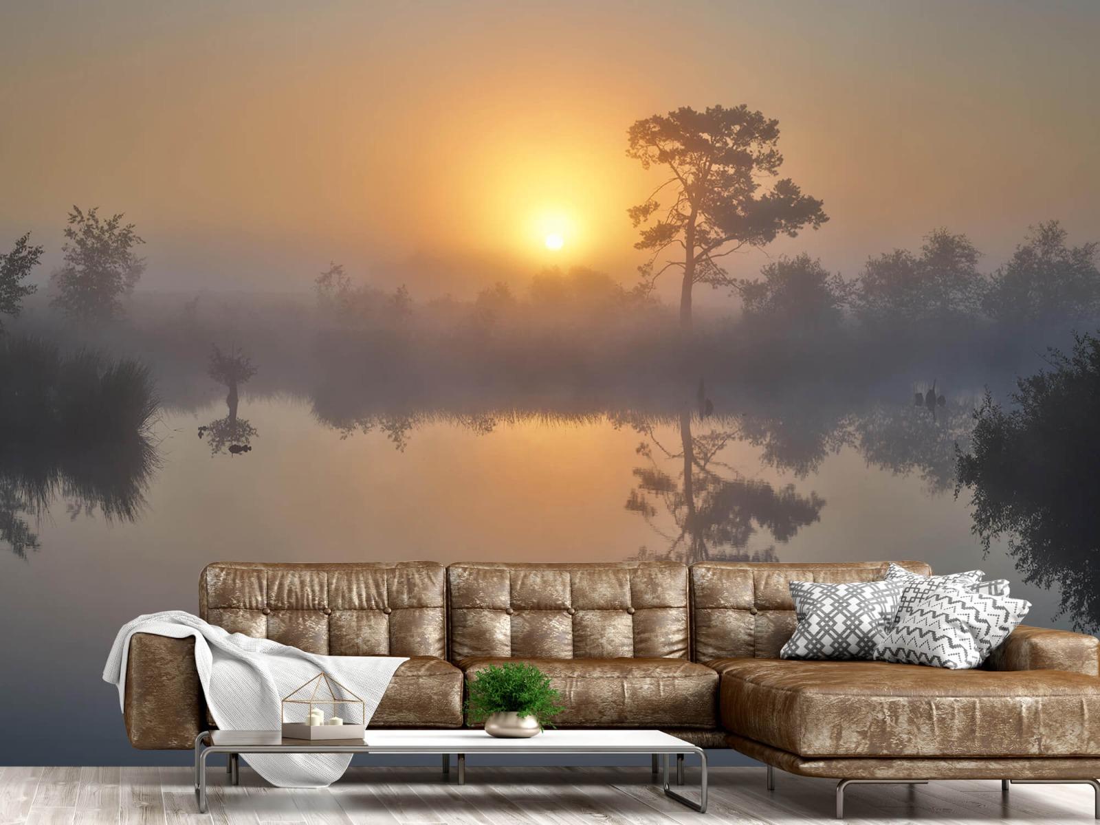 Natuur - Mistige zonsopkomst 15
