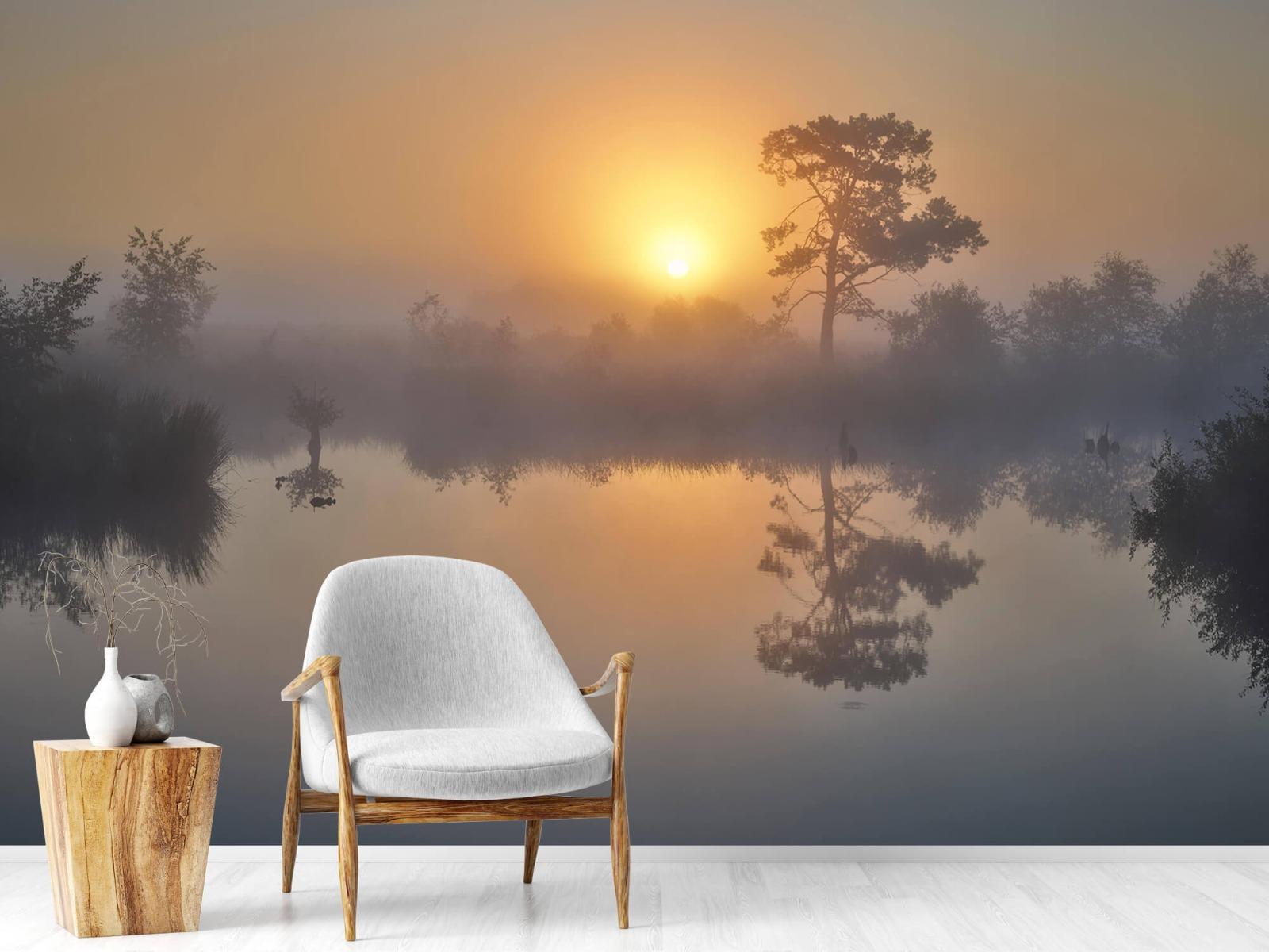 Natuur - Mistige zonsopkomst 2