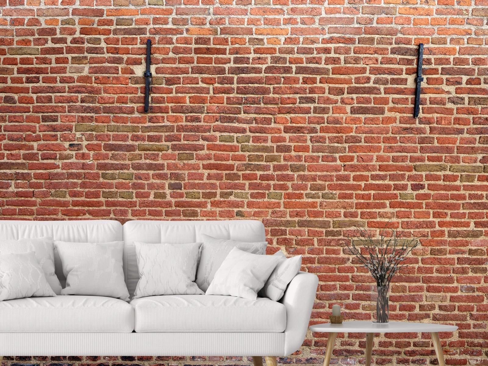 Stenen - Stadsmuur met muurankers 4