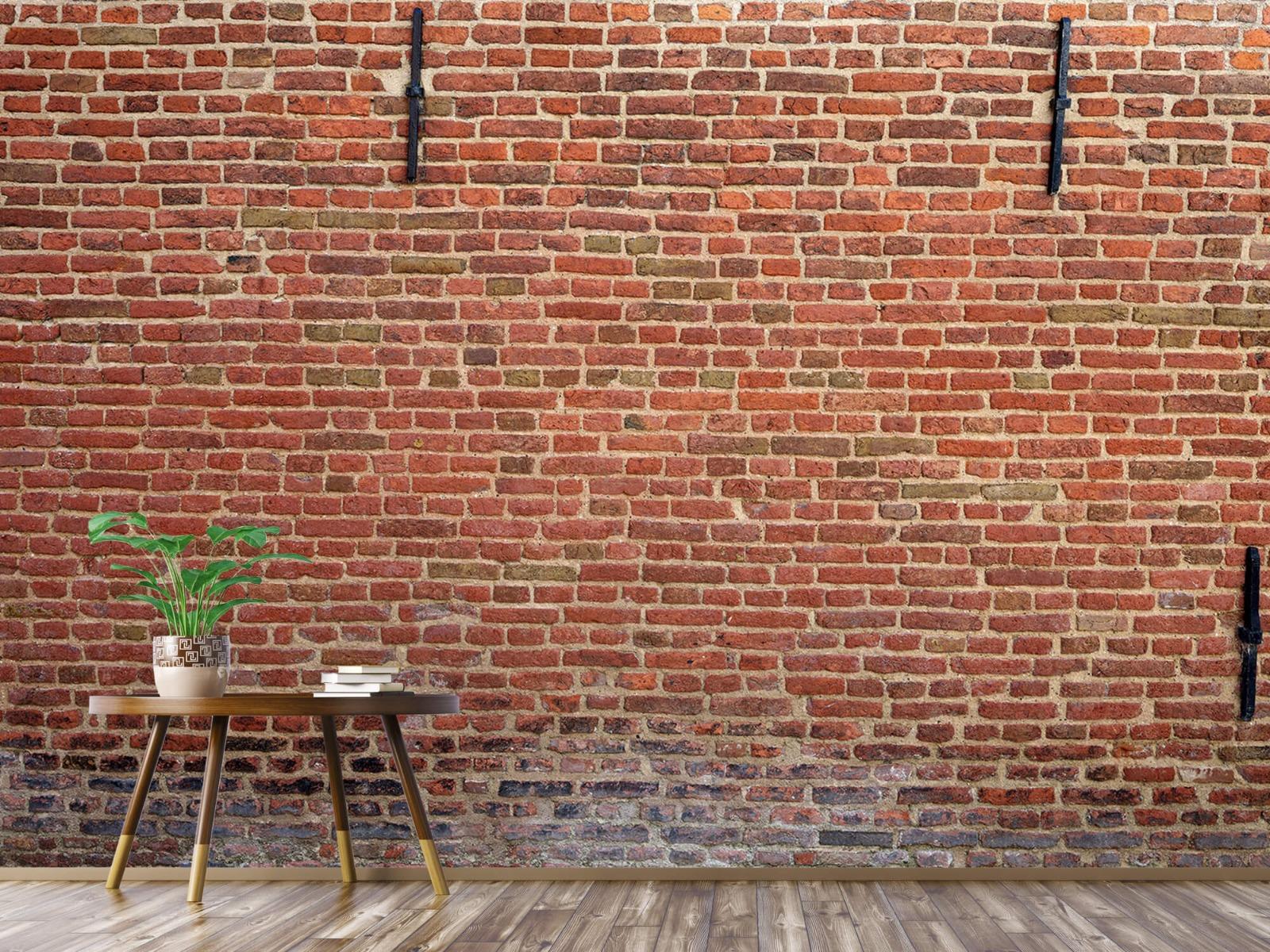 Stenen - Stadsmuur met muurankers 5