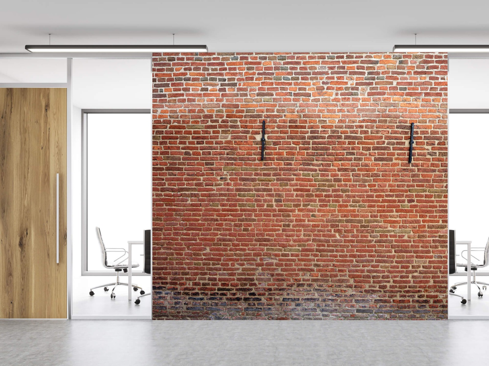 Stenen - Stadsmuur met muurankers 11